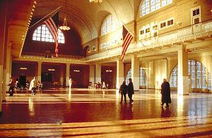 Iame of Ellis Island